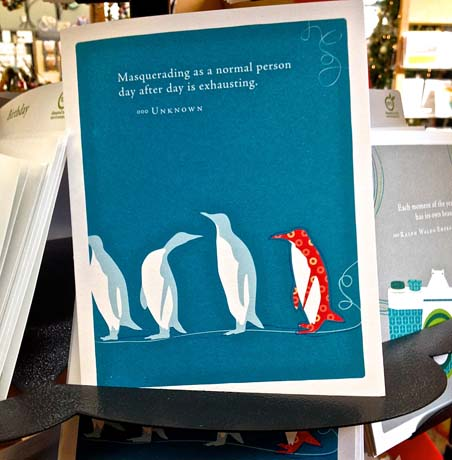 Greeting Card - Penguins